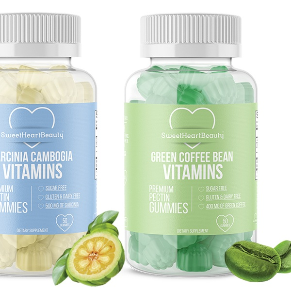 Sweet Heart Beauty Garcinia Cambogia And Green Coffee Bean Gummies