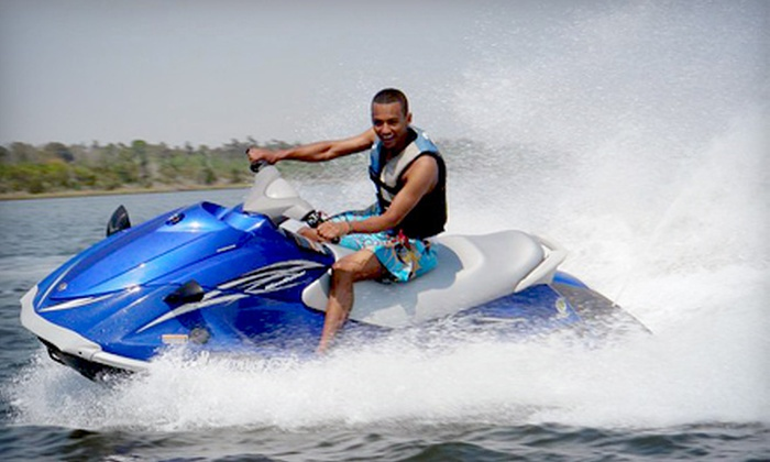 Blue Water Powerboat Rentals - West Palm Beach: $42 for a One-Hour Jet-Ski Rental from Blue Water Powerboat Rentals ($84 Value)