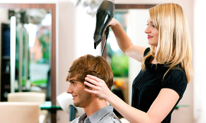 Right Place Men's Grooming - Lake Forest: One or Two Men's Haircuts with 5-Minute Neck-and-Shoulder Massages at Right Place Men's Grooming (Up to 53% Off)