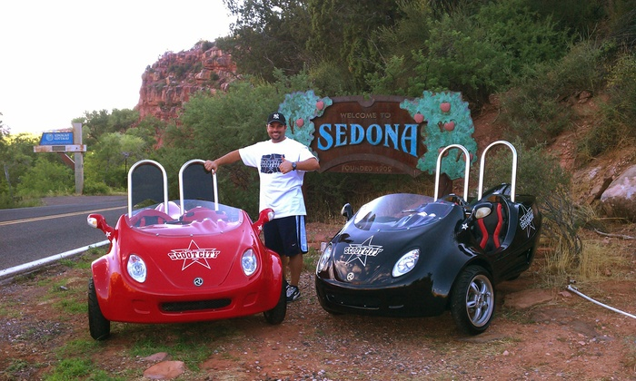 Scoot City Sedona - Sedona: $199 for a Two-Person Scootercar Tour of Sedona from Scoot City Sedona ($250 Value)