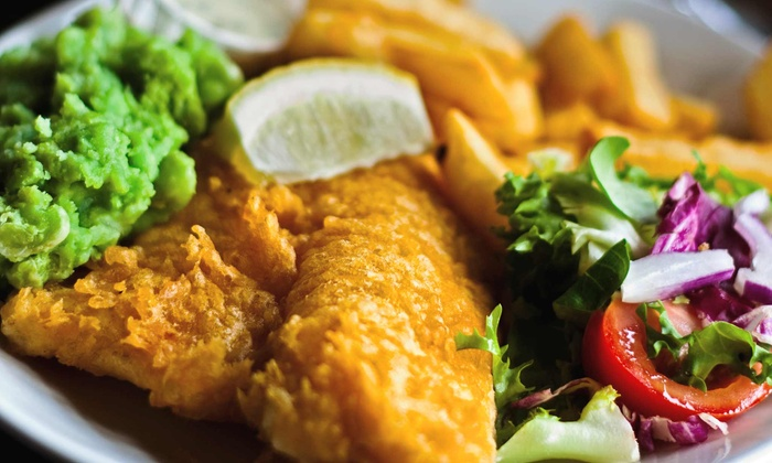 Walker's Fish 'n Chips - Multiple Locations: Seafood at Walkers Fish 'n Chips (Up to 50% Off). Three Options Available.