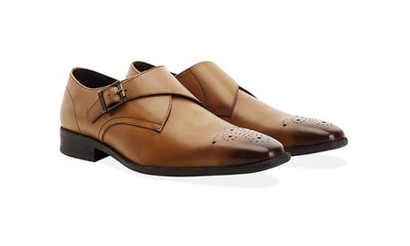 Zapatos de cuero Redfoot para hombre con suela de caucho antideslizante