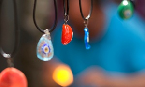 Smashing Times: Fused Glass Pendant and Earrings Jewelry-Making Experience for One or Two at Smashing Times (Up to 44% Off)