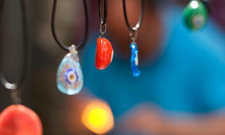 Fused Glass Pendant and Earrings Jewelry-Making Experience for One or Two at Smashing Times (Up to 50% Off)