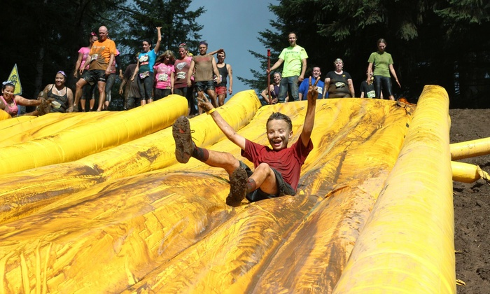 Mud Factor - Granite Regional Park: $25 for Mud Factor KIDZ Family Waves All-Ages Run on Sunday, March 20th ($40 Value)