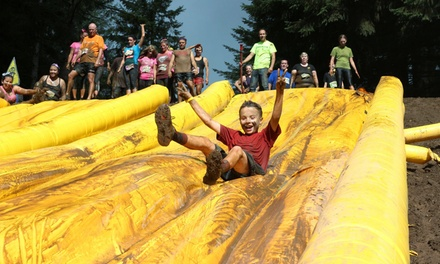 $25 for Mud Factor Dallas KIDZ Family Waves All-Ages Run on April 22, 2017 ($49 Value)