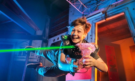 $5 for One Game of Laser Tag at Laser Mania Top Ryde City Up to $12.50 Value