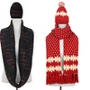 Dasein Jacquard Knit Hat or Scarf