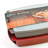 Grill Station Food Preparation and Serving Tray Set
