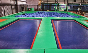 Rebounderz Of Newport News: Two or Four One-Hour Jump Passes at Rebounderz Of Newport News (Up to 46% Off)