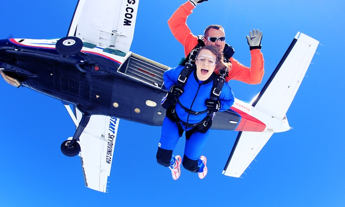 Start Skydiving - Orlando North Airpark: $119 for a Tandem Skydiving Jump from Start Skydiving (Up to $259 Value)