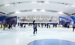 Durban Ice Arena: Entry into the Durban Ice Arena with Skate Hire for Two for R120