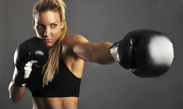Shodan Kickboxing - Multiple Locations: One Month of Kickboxing or 10 Drop-In Kickboxing Classes and Hand Wraps at Shodan Kickboxing (Up to 84% Off)