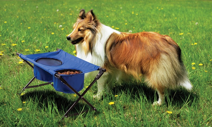 Dog Travel Diner with Carrying Case: $9.99 for a Dog Travel Diner with Carrying Case ($18.99 List Price). Free Returns.