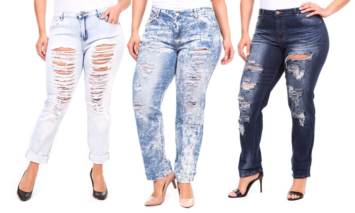 Women's Plus Size Jeans | Groupon Goods