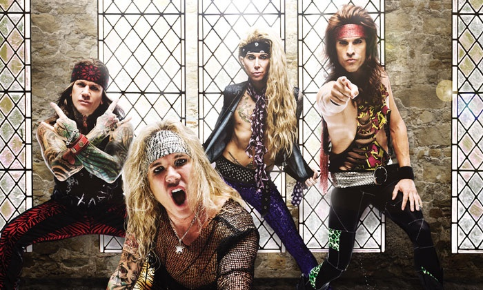 Steel Panther - Tabernacle: Steel Panther on April 27 at 8 p.m.