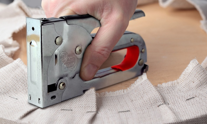 One or Two Hyfive Heavy-Duty Staplegun with Staples