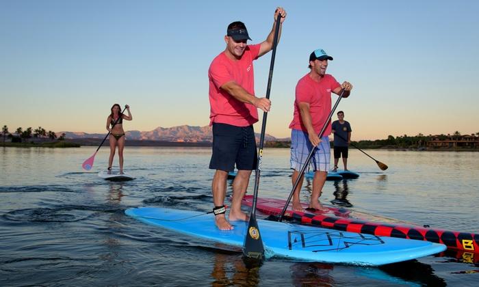 Las Vegas SUP Kayak Club - Las Vegas Sup Kayak Club: 1-Hr Paddleboard, Kayak, or Pedal-Boat Rental for 2 or 4 People from Las Vegas SUP Kayak Club (Up to 25% Off)
