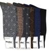 12-Pack of Men's Patterned Dress Socks