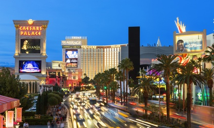 Helicopter Tour of the Strip for Two or Four from iflyElite.com (Up to 57% Off)