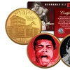 Muhammad Ali Coins 24K-Gold-Plated Set (2-Piece)
