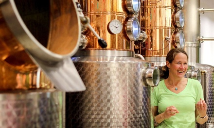 Distillery Tour and Tasting for Two, Four, or Six at Scratch Distillery (Up to 45% Off)