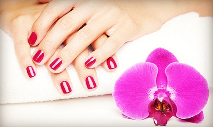 Taylor Doyon at Curl Up & Dye - Old Orchard Beach: One or Two Shellac Manicures from Taylor Doyon at Curl Up & Dye (Up to 57% Off)