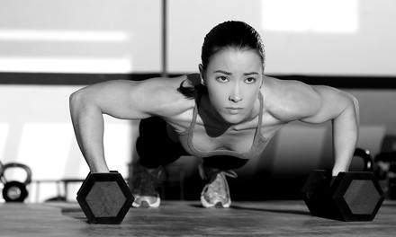 Cross-Training Classes atSynergy Fitness Studio(Up to 76% Off). Three Options Available.