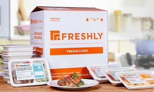 Freshly: 6, 9, 12, 21 Gourmet Prepared Meals from Freshly (Up to 52% Off)