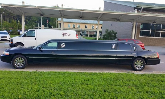 T&L Limousine and Charter bus service - Raleigh: Three Hours of Limo Rental from T&L Limousine and Charter bus service (45% Off)