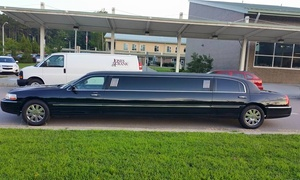 T&L Limousine and Charter bus service: Three Hours of Limo Rental from T&L Limousine and Charter bus service (45% Off)