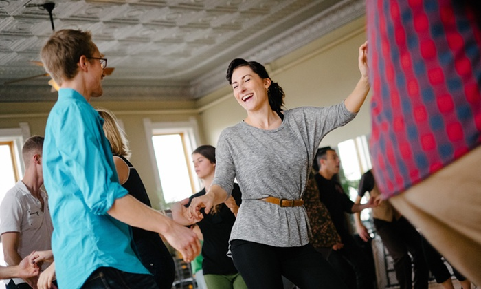 Swingin' Denver - Multiple Locations: Four or Eight Swing Dance Classes from Swingin' Denver (Up to 64% Off)