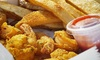 Harbor's Cajun Station - Crossing at Stone Creek: Cajun Food at Harbor's Cajun Station (Up to 40% Off). Two Options Available.