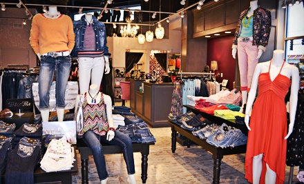 $30 for $60 Worth of Premium Women's Denim and Apparel at Jean Therapy