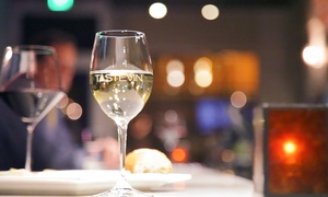 TasteVin Wine Bar & Bistro: Glasses of Wine and Cheese Plates for Two or Four at TasteVin Wine Bar & Bistro (Up to 46% Off)