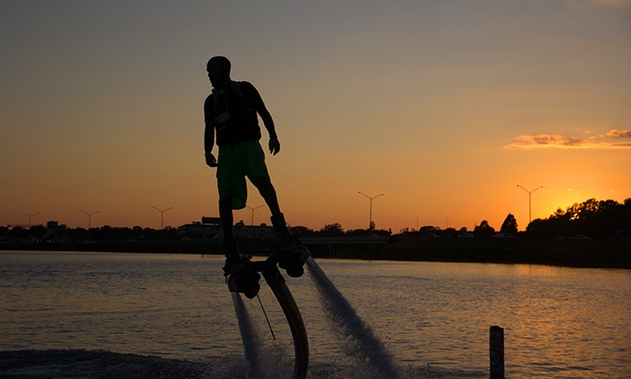 SoaringH2O - Lake Conway: 30-Minute Flyboard Session for One or Two at Soaring H2O (Up to 63% Off)