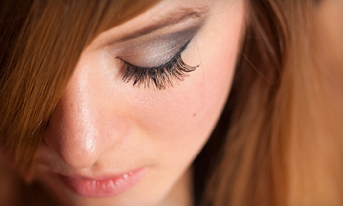 Amber Tillery at Curl Up & Dye - Minneha: Partial Lash Extensions or Full Lash Extensions with Optional Refill from Amber Tillery at Curl Up & Dye (Up to 52% Off)