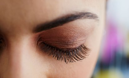 Full Set of Eyelash Extensions, Mani-Pedi and an Optional Threading at Ladanza Lady Beauty Center (Up to 75% Off)