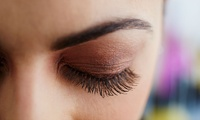 Semi-Permanent Eyelash Extensions with an Optional Eyebrow Tint and Shape at Hair and Beauty @ The Hub (Up to 52% Off)