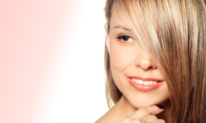 Salon Bamboo - Saugus: Haircut Package with Conditioning and Optional Partial or Full Highlights at Salon Bamboo (Up to 49% Off)