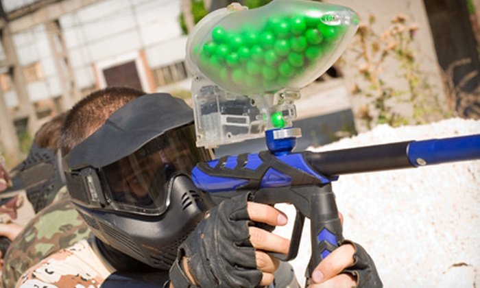 Battle Creek Paintball - Battlecreek Paintball: $32 for Day of Paintball for Two with Gear and 200 Rounds at Battle Creek Paintball in Kingdom City ($64 Value)