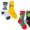 6-Pack of Boys' Licensed Sport Crew Socks