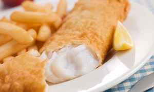 Fat Man's Fish Fry: One or Three Groupons, Each Good for $12 Worth of Fried Seafood and Chicken at Fat Man's Fish Fry (42% Off)