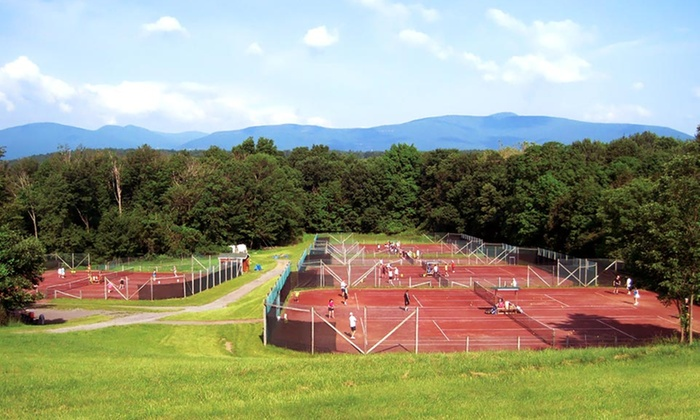 Total Tennis Camp - Saugerties, NY: Stay with Meals and Tennis Lessons at Total Tennis in Saugerties, NY. Price/Person Based on Double Occupancy.