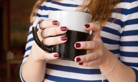One or Three French Manicures with Gel Polish at Ivagio Glo (Up to 64% Off)