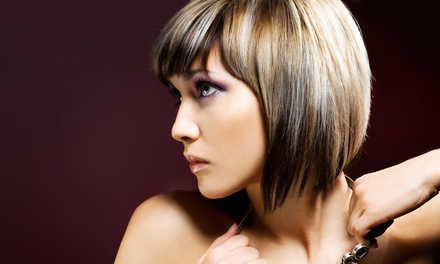 Hairstyling Services by Stephanie Mahone at Studio Elements (Up to 62% Off). Three Options Available.