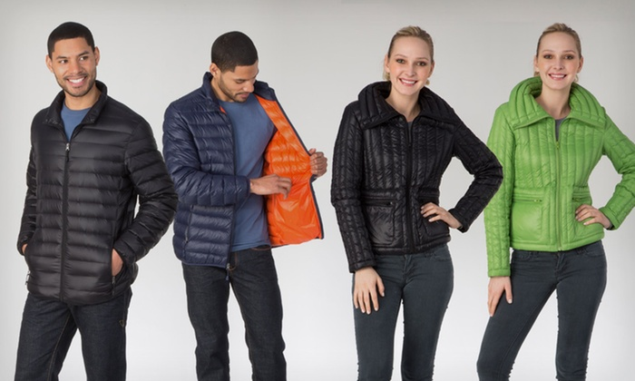 Halifax Packable Down Jackets: $49.99 for Men and Women's Down Jackets (Up to $229 List Price). Multiple Options Available. Free Shipping and Returns.
