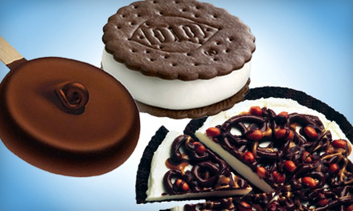 DQ Grill & Chill - Newton: 12 Dilly Bars or DQ Sandwiches, or 2 DQ Treatzza Pizzas at DQ Grill & Chill (Up to 55% Off)