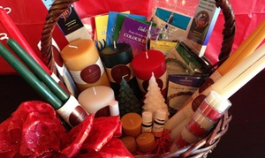 Gift Shop Express Inc.: Home Decor or Holiday Candle Package at Gift Shop Express Inc. (Up to 50% Off)