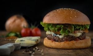 Grand Slam Burger: Burger au choix avec frites, boisson soft ou alcoolisée et café en duo dès 19,90 € au restaurant Grand Slam Burger